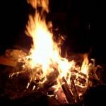 Kinderreim auf Feuer