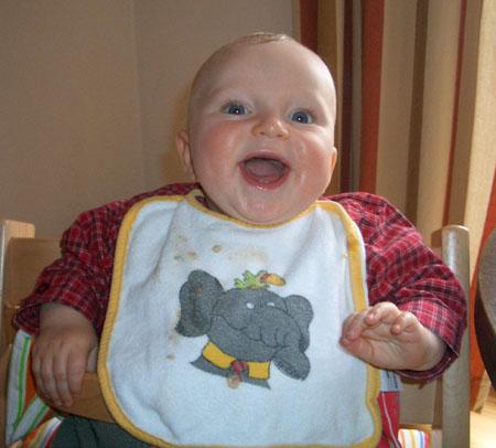 Kinderreim: Sauerei mit Brei