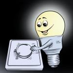 Reim über Energiesparleuchten