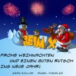 Frohe Weihnachten wünscht Reimix