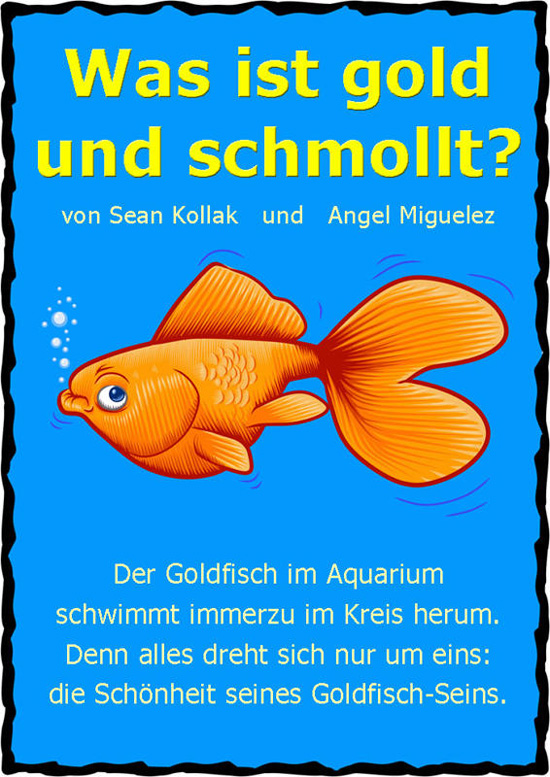 Goldfisch illustration von angel miguelez