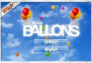 Ballons - Das Kinder-Onlinespiel von Reimix