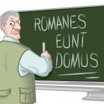 Comic über einen strengen Lehrer