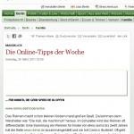 Reimix in der Berliner Morgenpost – als Online-Tipp der Woche