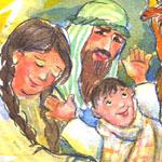 Illustration zu Weihnachten von Agnes Zug
