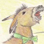 Comic-Zeichnung: Kuckuck und Esel