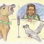 Kinderreim über Kuckuck und Esel