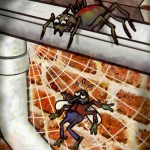 Fabel über Spinne und Fliege