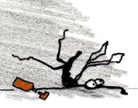 Illustration Mücke von Britta Bungard