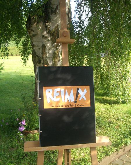 Reimix auf Mischwerk ausgestellt