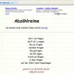 Schlechte Reime-Websites