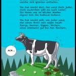 Lustige Kinderreime über die Kuh