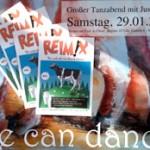 Reime-Bücher auf Tanzveranstaltung in Eitof