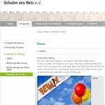 Schulen ans Netz empfiehlt die Kinderreime-Website Reimix