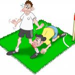 Lustige Kinderreime über Fußball-Fouls